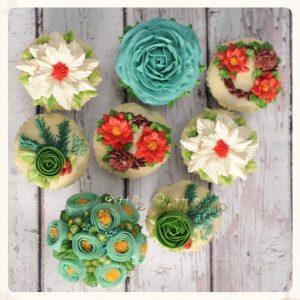 8 Buttercream Cupcakes