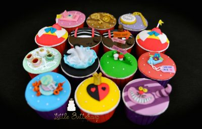 Mad Hatter Tea Party Cupcakes