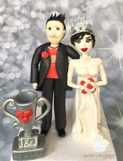 Bride and Man U Groom