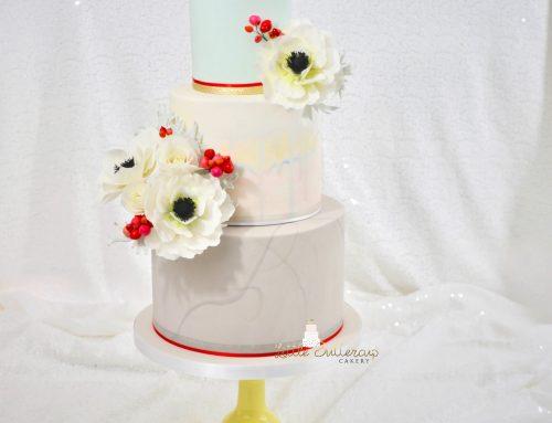 Vineyard Theme Birthday Cake