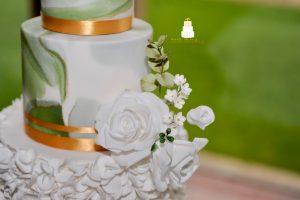 sugar flowers close up details