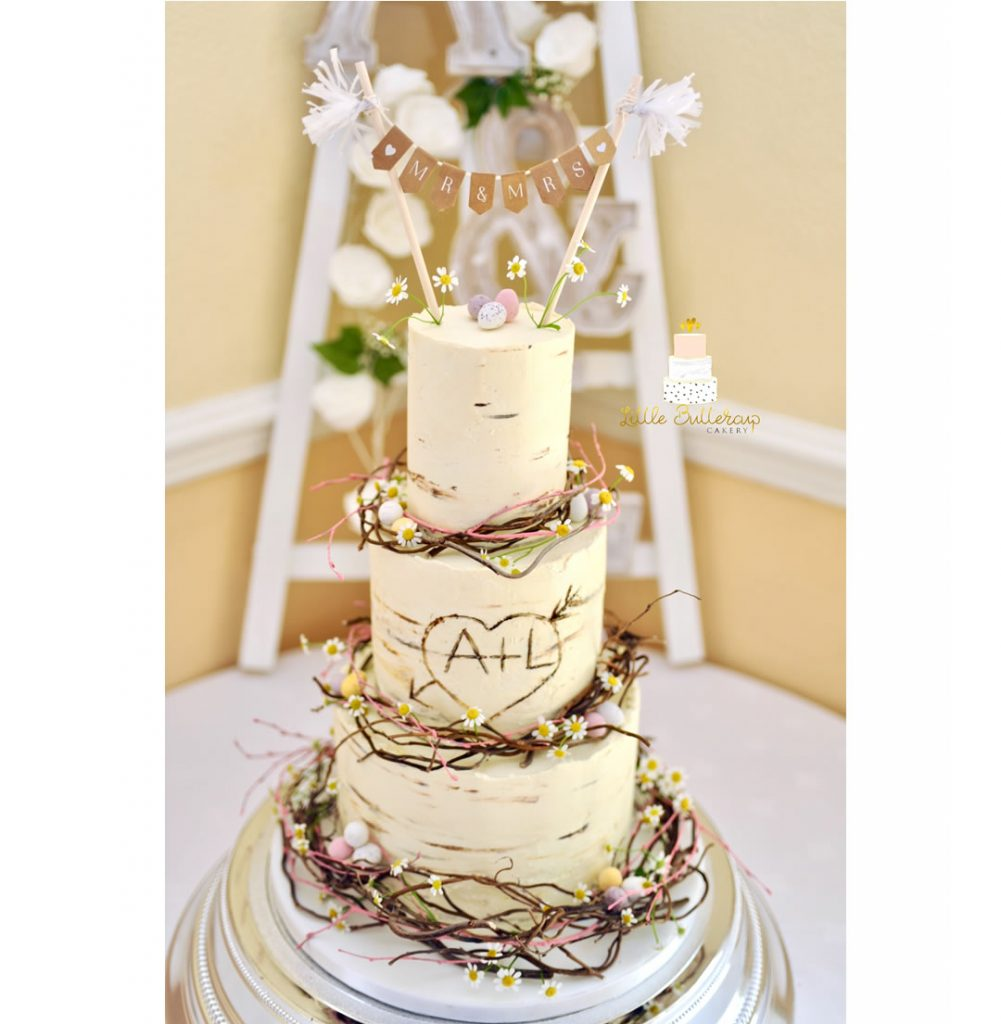 Alex & Laura's Wedding Cake