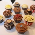 Selection of cupcakes