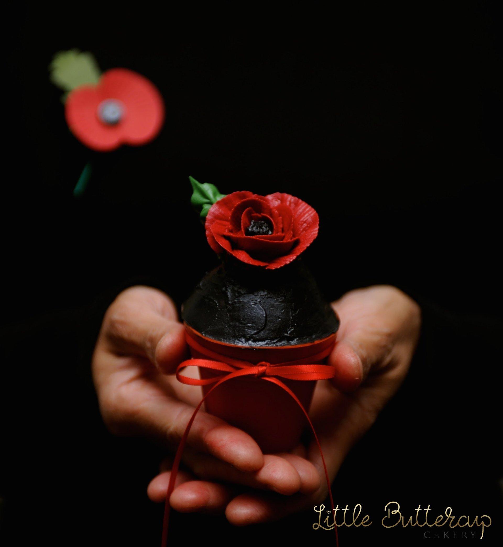 Dark Poppy Cake