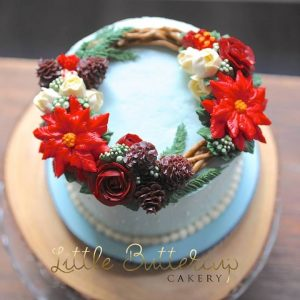 Hand made wedding cake