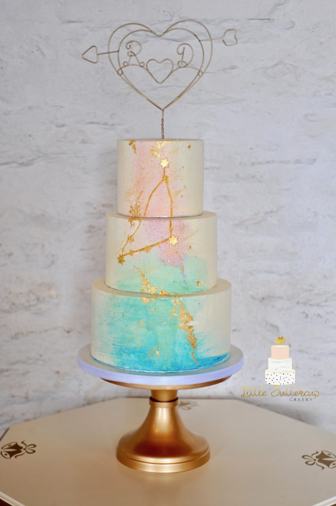 Buttercream Capricorn constellations