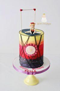 Gymnastic cake