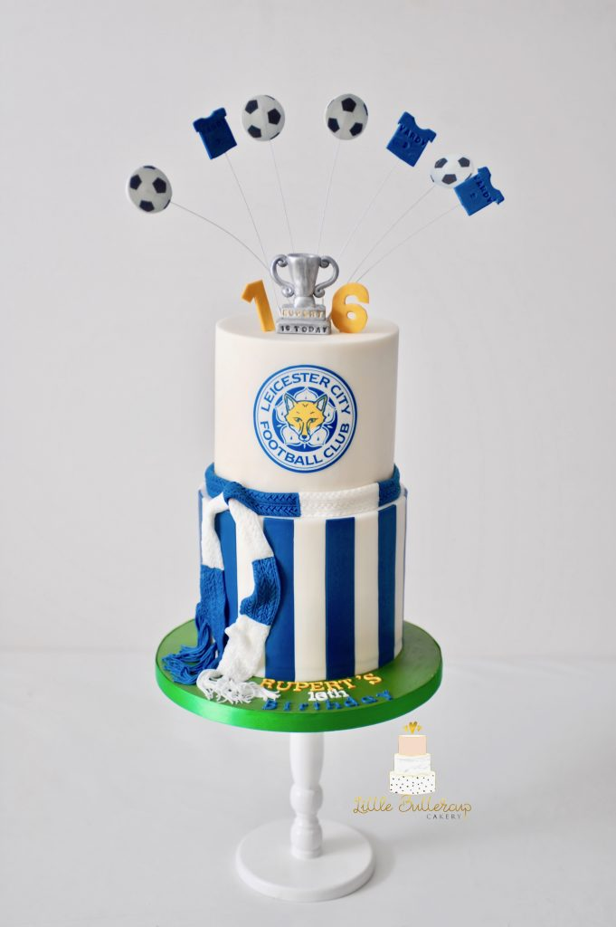 Leicester football club cake