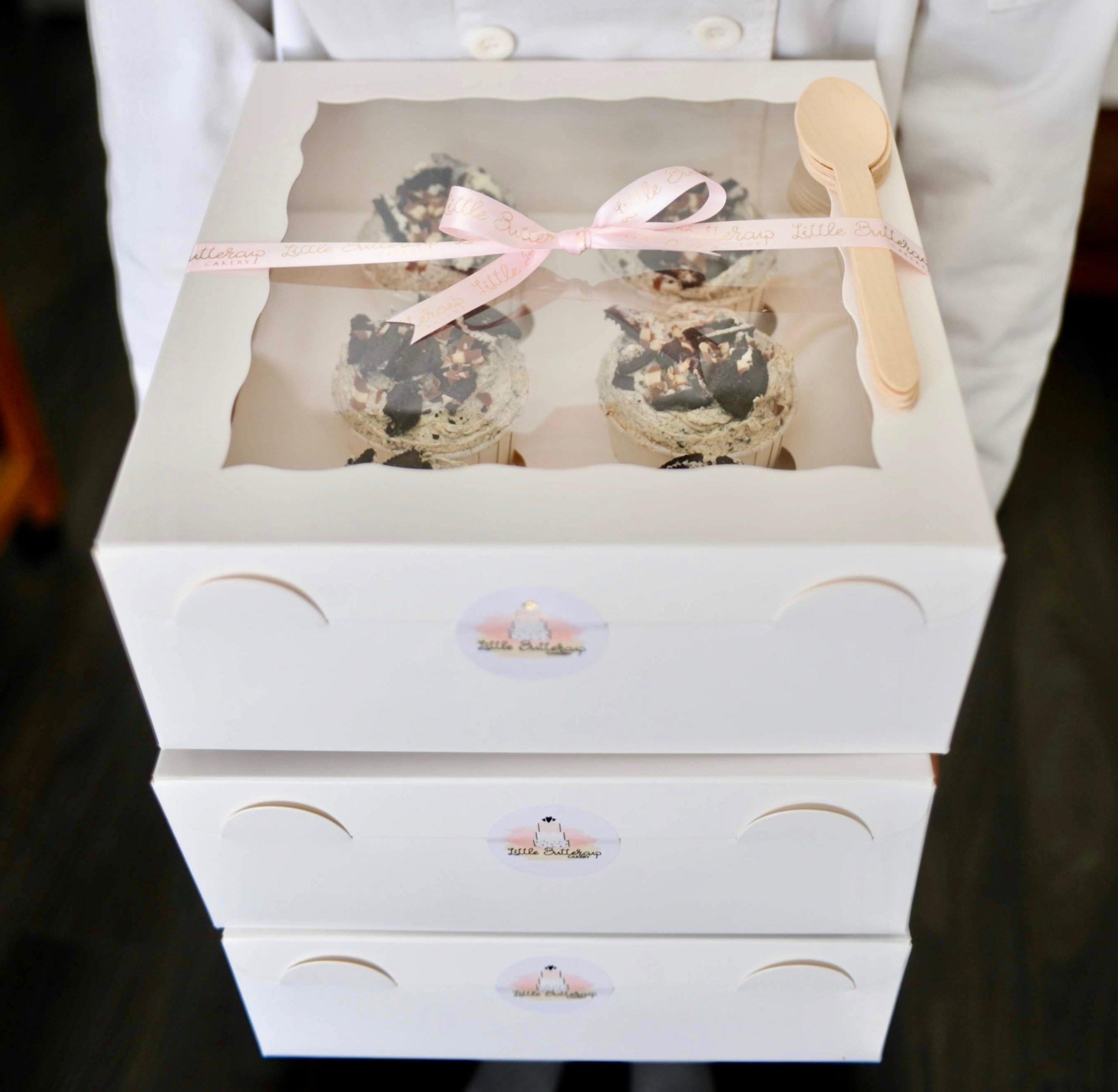 Classic swirl cupcakes
