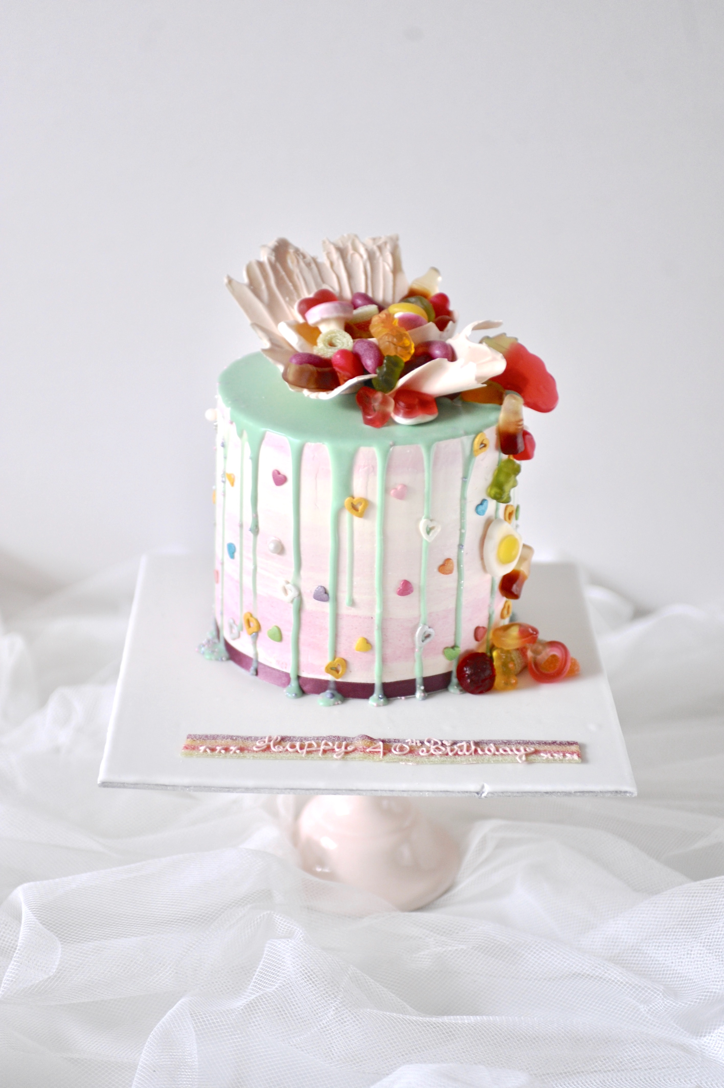 Sweets topper drip cake