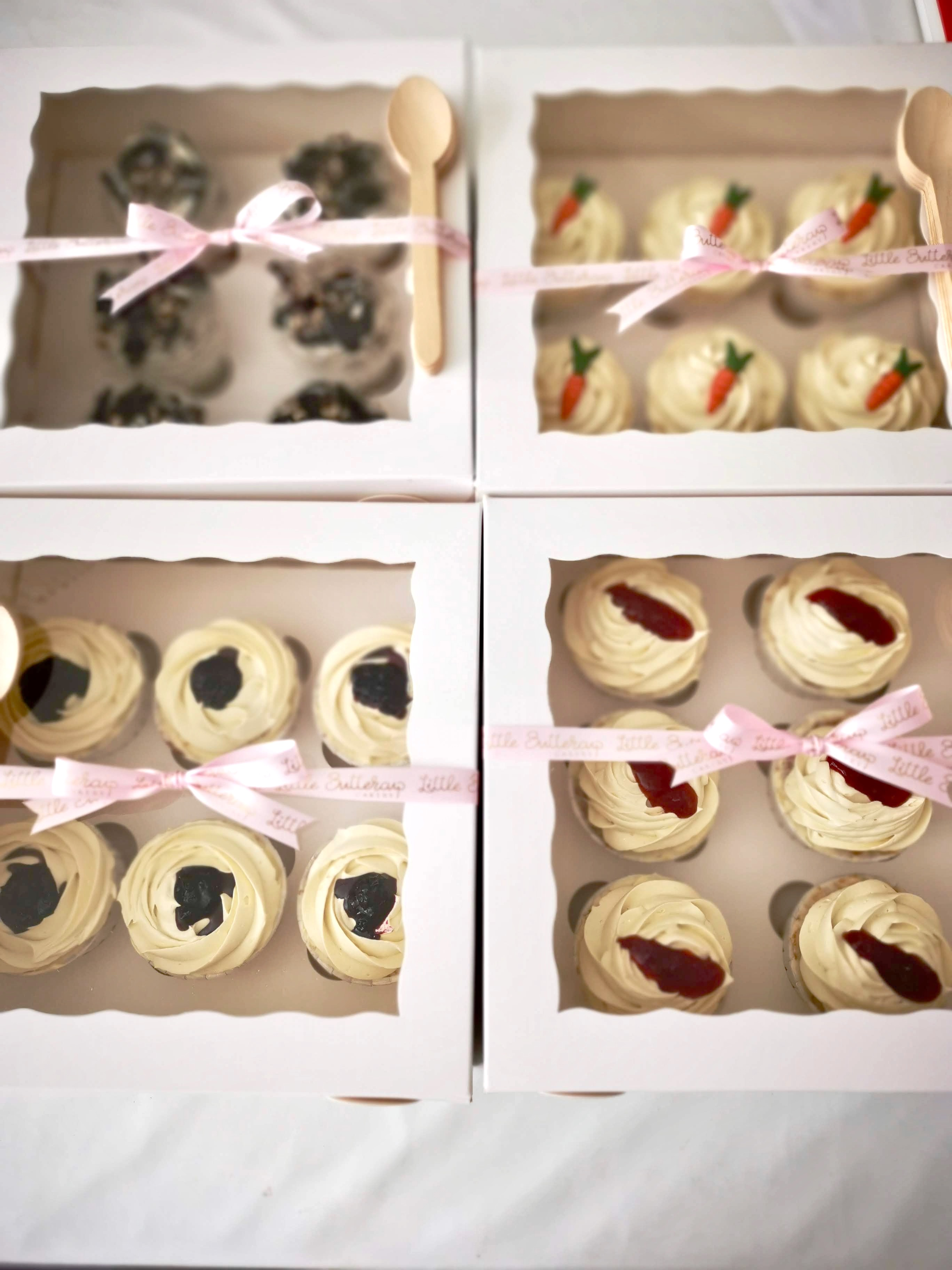 Classic buttercream swirl cupcakes