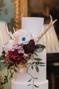 sugar flowers & sugar antlers