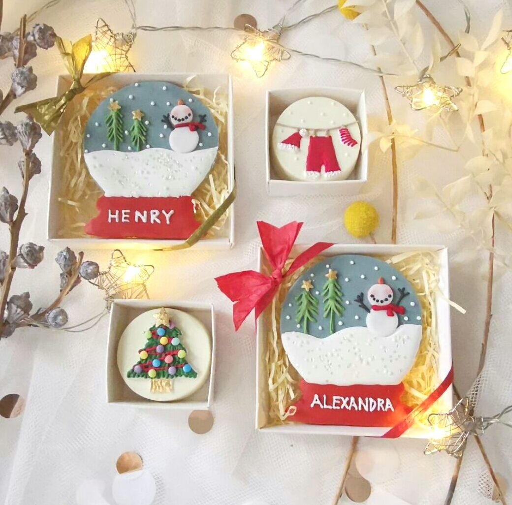 Christmas stocking filler cookies